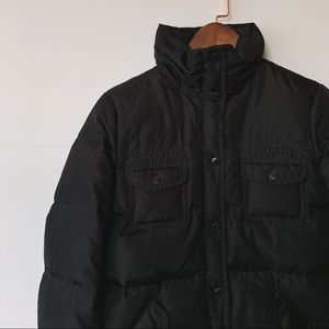 J CREW | Down Puffer Jacket, Black